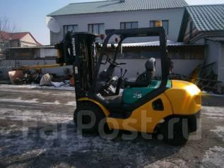 Komatsu. Продается вилочный погрузчик 25, вагонник, 2 500 кг.