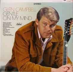 "Винил Glen Campbell ""Gentle on my mind"" 1967 USA"
