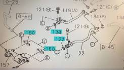 Уплотнения системы охлаждения 6VE1, 6VD1 c 1998г Isuzu