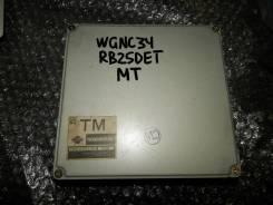 Блок управления двс. Nissan Stagea, WGNC34 Двигатель RB25DET