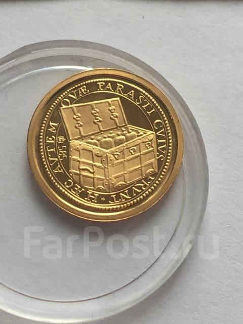 Аукцион Proof золото 585 пробы инвестиционная монета