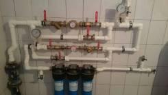 Монтаж систем водоснабжения, водоотведения