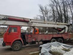 КамАЗ АГП-30. Автовышка, 30 м.