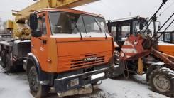 Камаз. Автокран 25т 2006 г. в., 10 850 куб. см., 25 000 кг., 22 м.