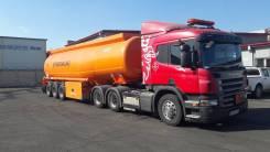 Scania P380. Продается седельный тягач с полуприцепом Kassbohrer, 11 705 куб. см., 36 200,00куб. м.