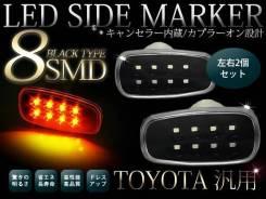 Повторитель поворота в крыло. Toyota Land Cruiser, GRJ76K, GRJ79K, J200, URJ202, URJ202W, VDJ200 Двигатели: 1GRFE, 1URFE, 1VDFTV, 3URFE. Под заказ