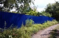 Забор на винтовых сваях.