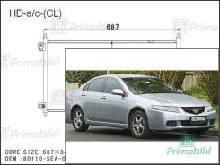 Радиатор кондиционера Honda ACCORD 2002-2007 (JPN/EUR-CL7-9)(4d sed)