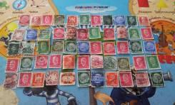55 почтовых марок военной Германии. 1933-1944 г. Есть нечастые! Лот №
