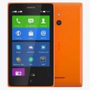 Nokia XL. Б/у, Оранжевый, Dual-SIM