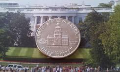CША. Юбилейные 50 центов 1976 г. D. 200 лет Независимости США. Спец. це