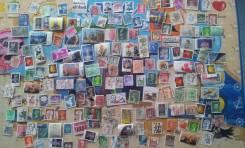 159 почтовых марок Мира. Есть нечастые! За 1 рубль!