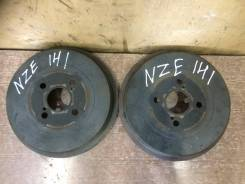 Барабан тормозной. Toyota Corolla Fielder, NZE141, NZE141G, NZE144, NZE144G, ZRE142, ZRE142G, ZRE144, ZRE144G Двигатель 1NZFE