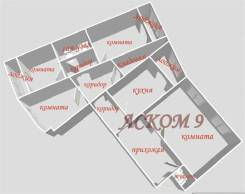 4-комнатная, проспект Красного Знамени 127. Третья рабочая, агентство, 95 кв.м.