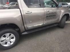 Накладка на боковую дверь. Toyota Hilux. Под заказ