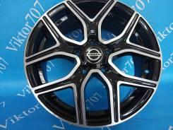 Nissan. 6.5x16, 5x114.30, ET38, ЦО 67,1мм.