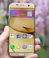 Samsung Galaxy S7 Edge. Б/у, Желтый, Золотой
