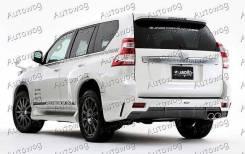 Обвес кузова аэродинамический. Toyota Land Cruiser Prado, GRJ150L, GRJ150W, GRJ151W, KDJ150L, TRJ12, TRJ150W Двигатели: 1GRFE, 1KDFTV, 2TRFE