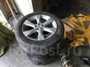 Продам колеса 215/60R17 5*100 Subaru. 7.0x17 5x100.00 ET55 ЦО 56,1мм.