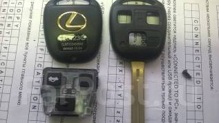 Корпус ключа. Lexus ES330, MCV31 Lexus SC430, UZZ40 Lexus LS430, UCF30 Двигатели: 3MZFE, 3UZFE