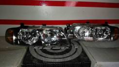 Фара. Mitsubishi Diamante, F31A, F31AK Двигатели: 6G71, 6G72, 6G73, 6G74
