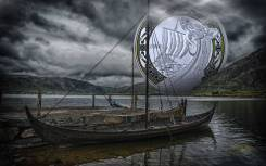 * Канада 20 долларов 2018 Northern Fury * 1-ая монета серии 'Корабли