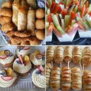 Еда для детских праздников с доставкой. Детское меню.