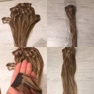 Пряди волос.