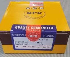 Кольца поршневые 4M40 STD NPR SDM31114ZZ, ME201522 конус Mitsubishi