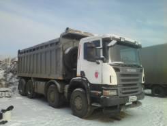 Scania. Самосвал Скания, 12 000 куб. см., 32 000 кг.