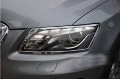 Накладка на фару. Audi Q5, 8RB Двигатели: CAHA, CALB, CCWA, CDNB, CDNC, CDUD, CGLB, CGLC, CHJA, CNBC, CNCD, CTUC, CTVA