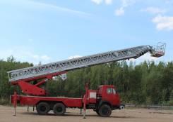КамАЗ 5410. Автовышка 28м телескопическая (установка Финская), 28 м.