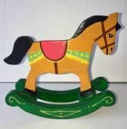 Лошадка качалка ручной работы