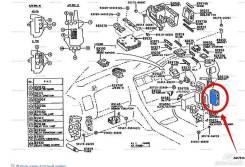 Блок управления. Toyota Mark II, JZX90 Toyota Cresta, JZX90 Toyota Chaser, JZX90. Под заказ