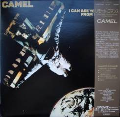 """Винил Camel """"I can see your house from here"""" 1979 Japan"""