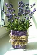 Лаванда -цветы ручной работы