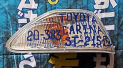 Повторитель поворота в крыло. Toyota Carina, AT210, AT211, AT212, CT210, CT215, ST215 Двигатели: 2CT, 3SFE, 4AGE, 5AFE, 7AFE