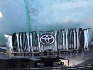 Решетка радиатора. Toyota Land Cruiser Prado, GRJ150L, GRJ150W, GRJ151W, KDJ150L, TRJ12, TRJ150W Двигатели: 1GRFE, 1KDFTV, 2TRFE