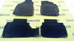 Коврики. Toyota Vitz, NCP95, NCP91, KSP90, SCP90 Двигатели: 2NZFE, 1NZFE, 1KRFE, 2SZFE