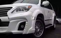 Обвес кузова аэродинамический. Lexus LX570. Под заказ