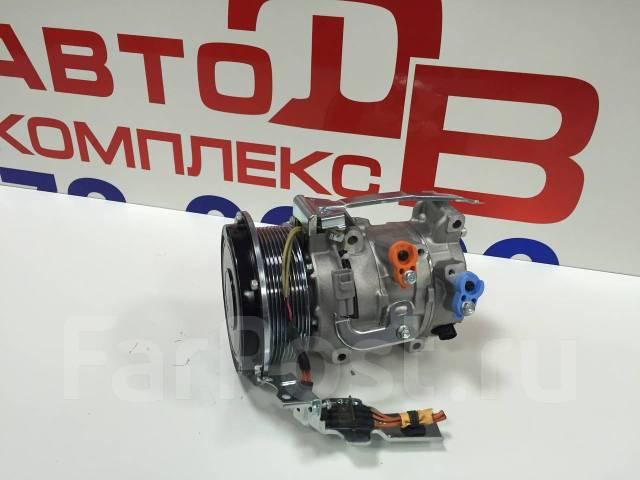 Компрессор кондиционера (Toyota) ALPHARD, ESTIMA HYBRID 2AZFXE