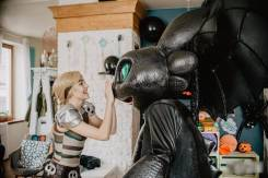 Иккинг Астрид Беззубик Громгильда как приручить дракона аниматор