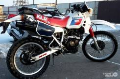 Kawasaki KLR 250. 249 куб. см., исправен, птс, с пробегом