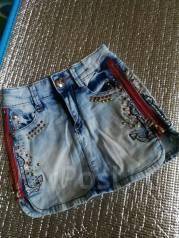 Юбки джинсовые.