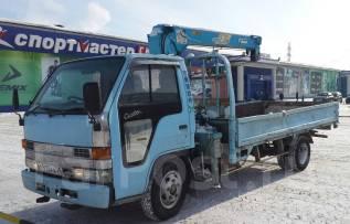 Бортовой грузовик с КМУ Isuzu Elf стрела 2.5t