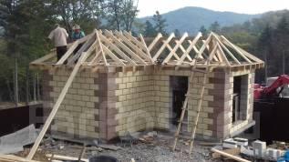Капитальное строительство. Строительство из теплоблоков.