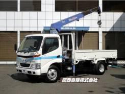 Toyota Dyna. с манипулятором, 4 600куб. см., 2 000кг., 4x2. Под заказ
