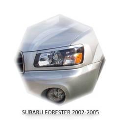 Накладка на фару. Subaru Forester, SG5, SG6, SG69, SG9 Subaru Bistro Двигатели: EJ20, EJ201, EJ205, EJ25, EJ251, EJ255