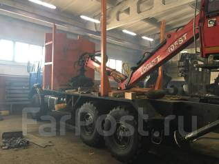 КамАЗ 43118 Сайгак. Продается Камаз 43118 с установкой Loglift 105ST, 10 870 куб. см., 12 000 кг.