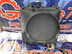 Радиатор охлаждения двигателя. Mitsubishi Pajero Mini, H51A, H56A Mitsubishi Pajero Junior, H57A Mitsubishi Pajero Двигатели: 4A30, 4A31